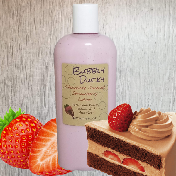 Chocolate Covered Strawberry Lotion