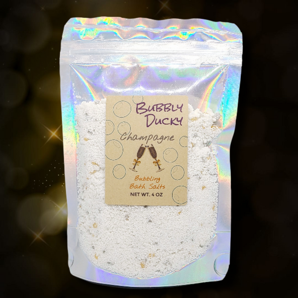 Champagne Bubbling Bath Salt