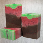 Chocolate Covered Strawberry Bar Soap