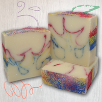 Scribbles Bar Soap