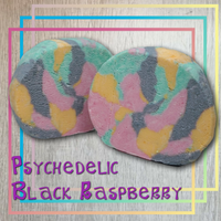 Psychedelic Black Raspberry Bubble Bar
