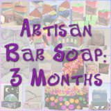 Bubble Box - 3 Month Artisan Soap Subscription