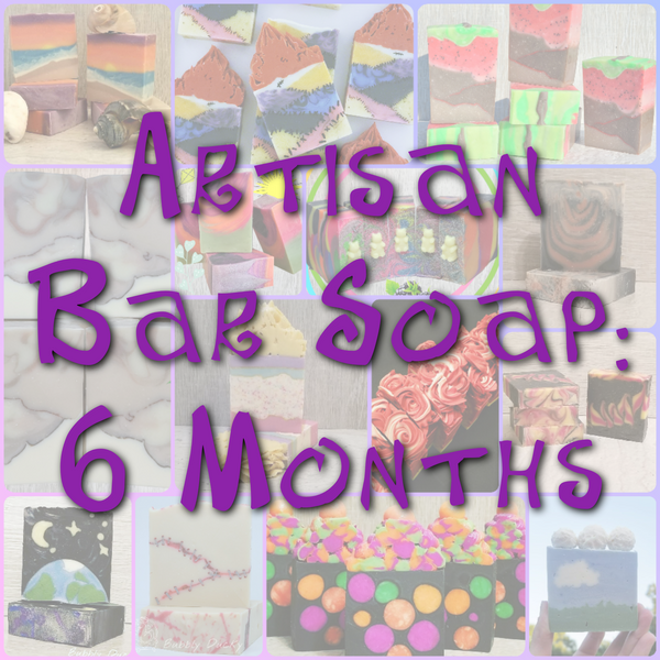 Bubble Box - 6 Month Artisan Soap Subscription