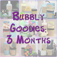Bubble Box - 3 Month Goody Collection Subscription