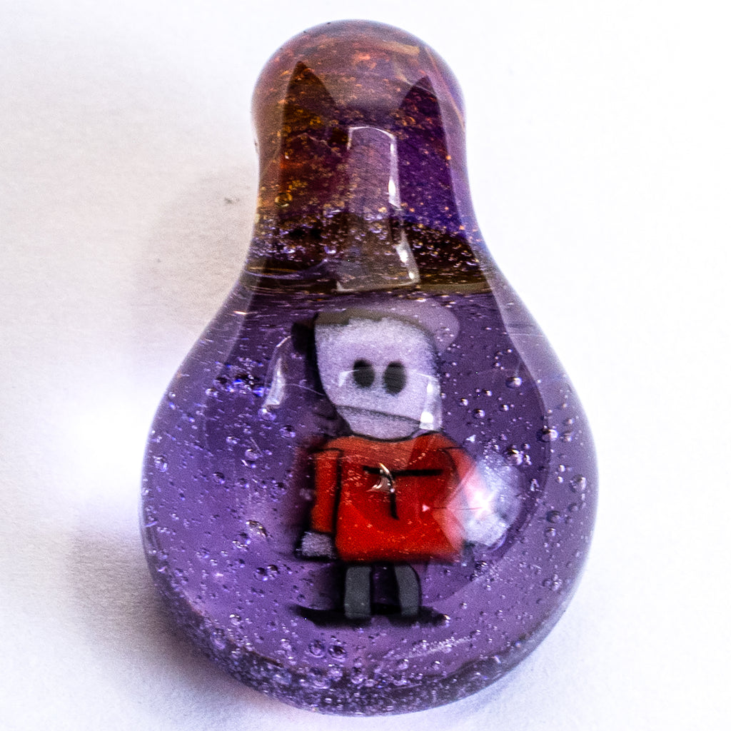 Marbles By Keys - South Park Terrance Character - Purple Lollipop
