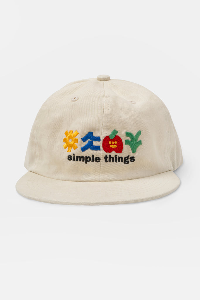 Simple Things Hat - Cream