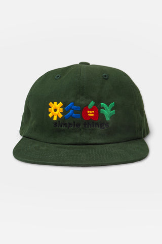 Simple Things Hat - Hunter Green