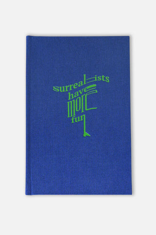Surrealist Sketchbook Royal Blue/Green