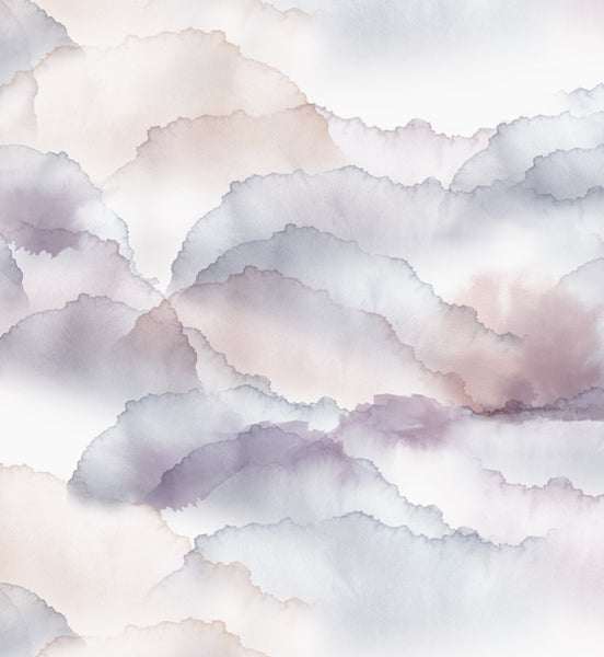 Cloud - Mauve Fabric