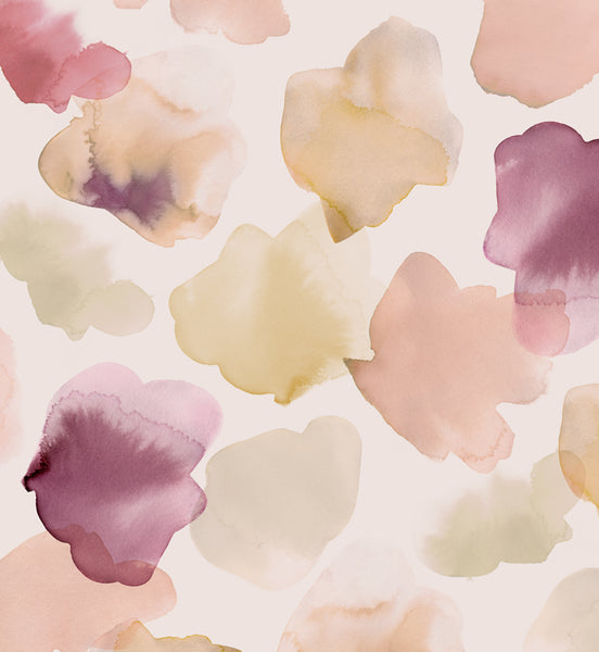 Petals Pressed Fabric - Blush