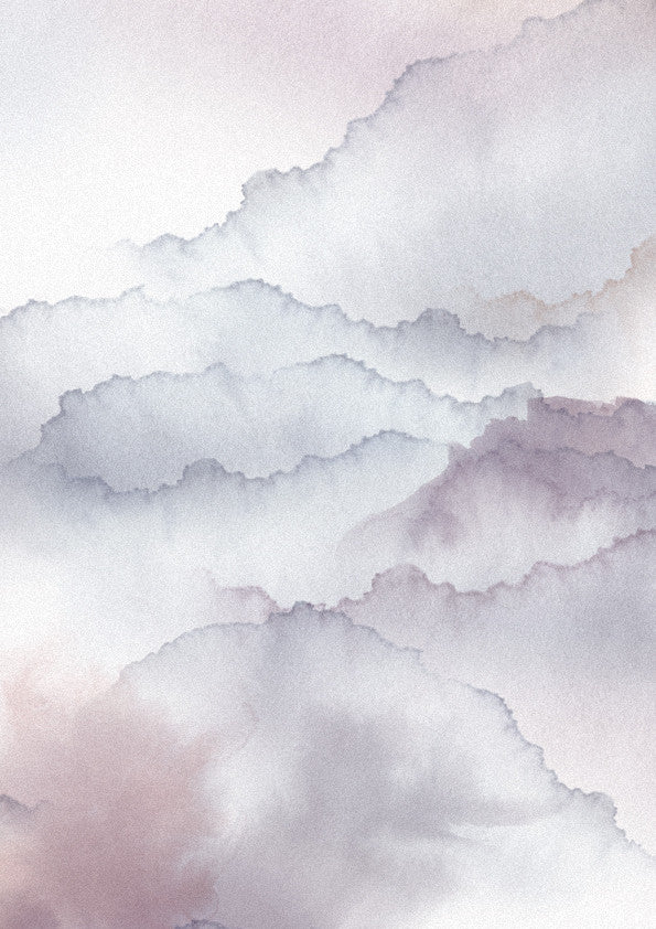 Sample - Cloud Fabric Mauve