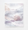 Cloud Mauve Art Print