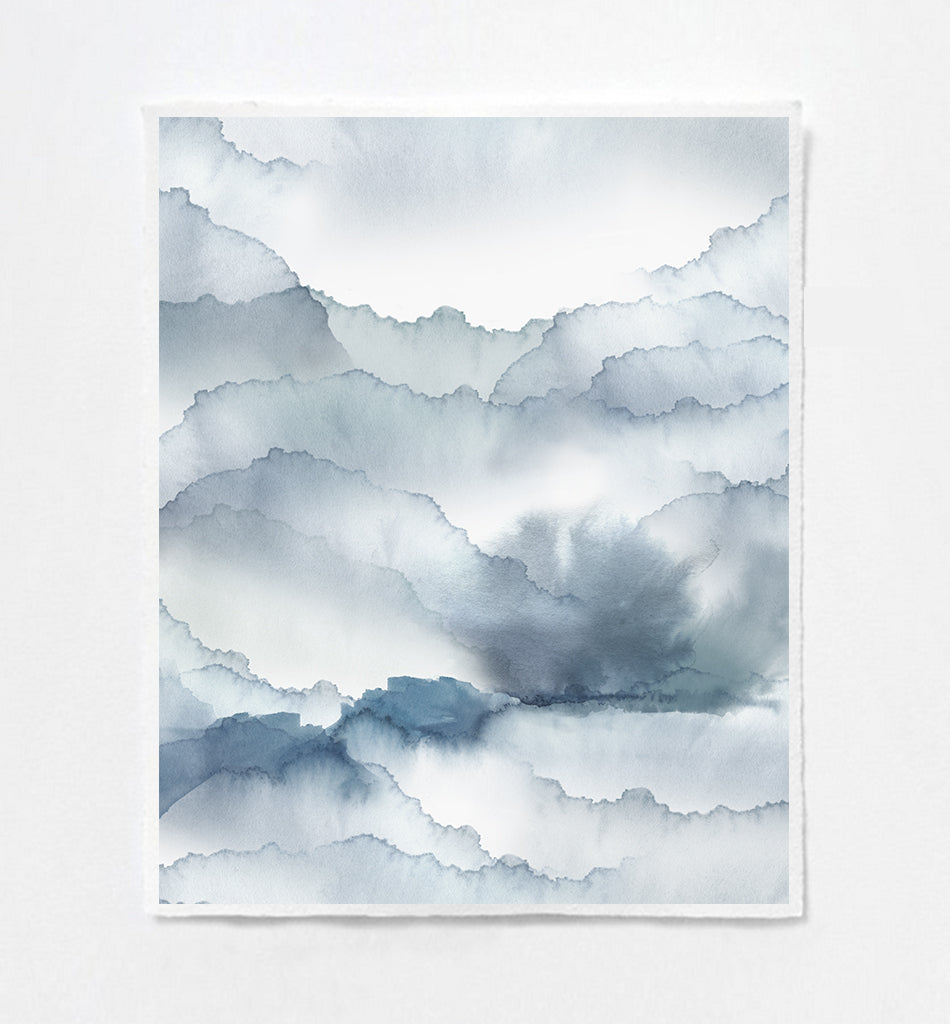 Cloud Sky Art Print