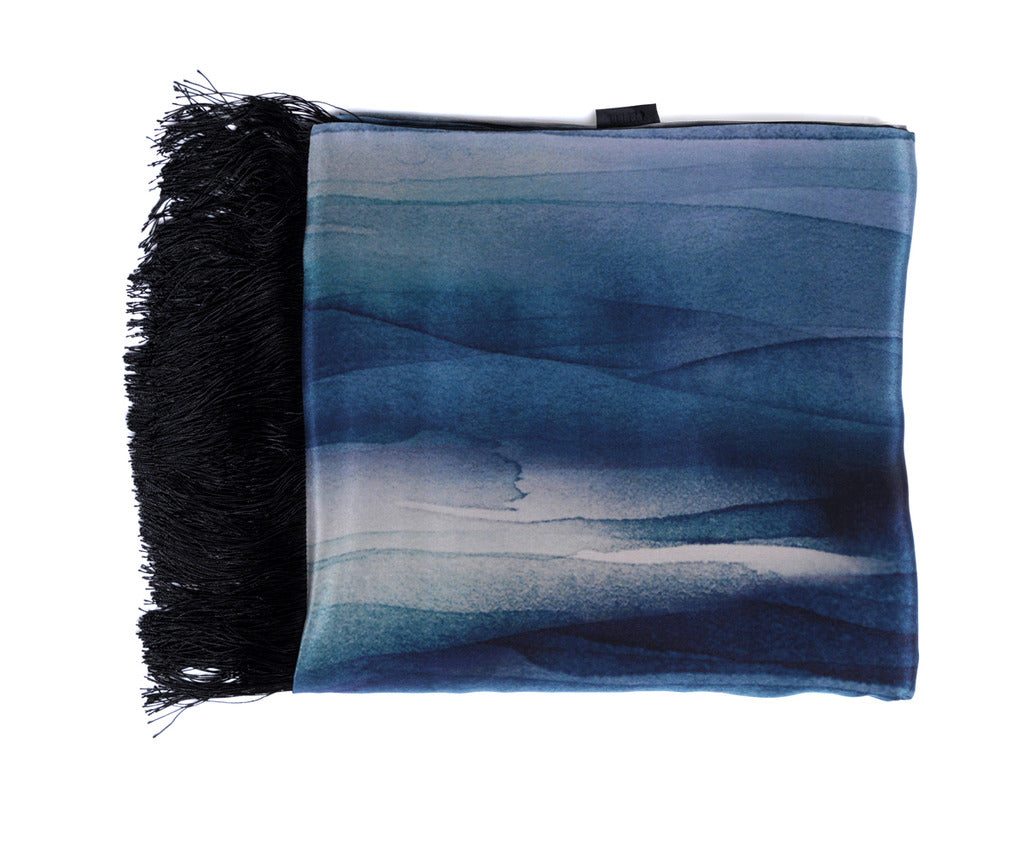 River Silk Throw