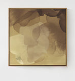 Bloom Framed Art - Gold