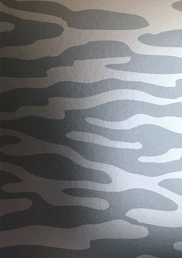 Reflection Wallcovering - Silver