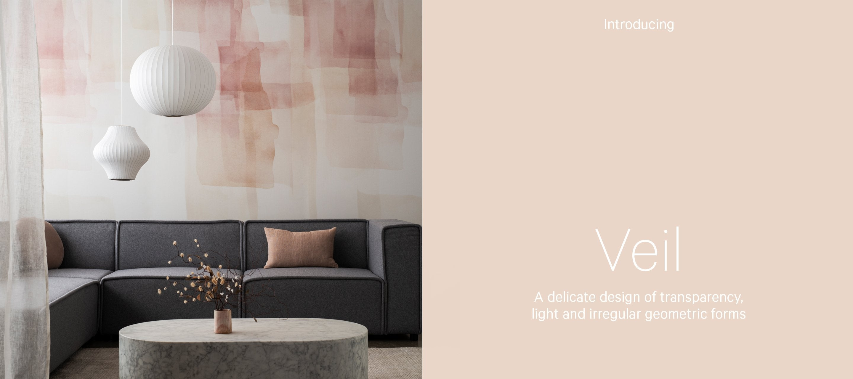 Beautiful textiles for beautiful spaces - wallpapers and