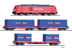 Tillig 1445 01445 TT Freight Train Set DB AG
