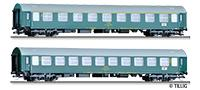 "Tillig 1803 01803 Passenger coach set ""Vindobona 3"" of the _SD with two passenger coaches, type Y/B 70, E"