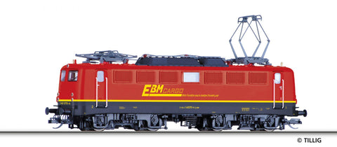 Tillig 4393 04393 TT Electric locomotive EBM Cargo