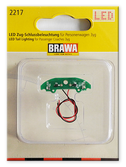 Brawa 2217 LED lights for Passenger Coaches 3yg