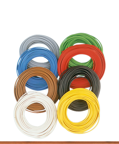 Brawa 3123 Double-stranded Wire 0 14 mm green