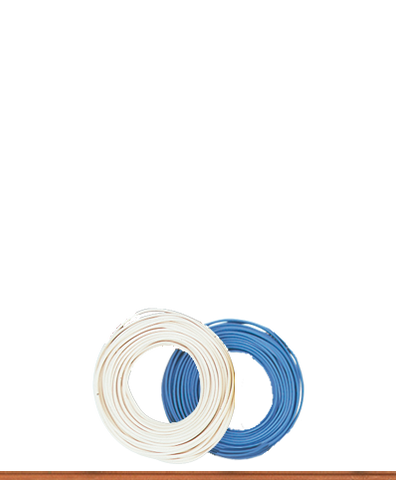 Brawa 3135 Double-stranded Wire 0 14 mm blue