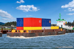 Kibri 38524 Barge For Bulk Goods Or Containers