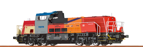 Brawa 42728 Diesel Locomotive Gravita 15D BR 265 Innotrans 2012 Voith Turbo DC Analogue BASIC