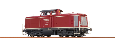 Brawa 42829 Diesel Locomotive Serie Am847 SERSA AC Digital BASIC