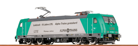 Brawa 43914 TRAXX Electric Locomotive BR 185 2 LTE DC Digital