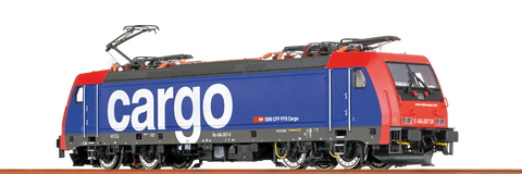 Brawa 43984 TRAXX Electric Locomotive BR 484 SBB Cargo DC Analogue BASIC