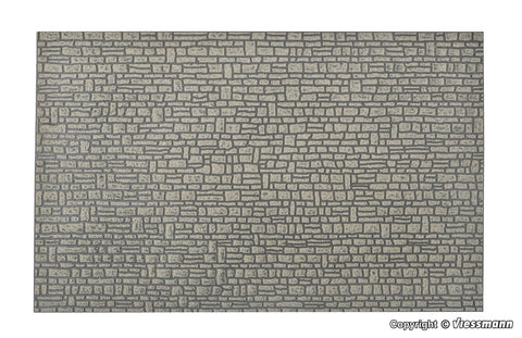 Vollmer 48821 G Real Stone quarried wall sheet