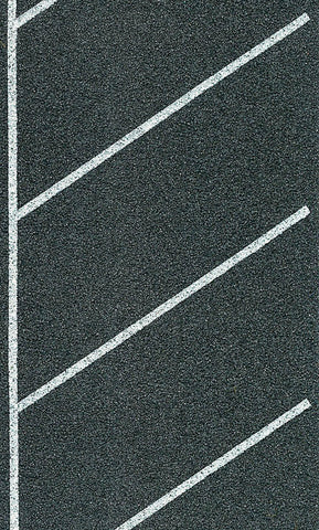 Heki 6578 N Self Adhesive Roadway Parking Spaces Diagonal 4 x 100cm