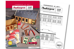 Auhagen 80001 BAU Modular System Planning Booklet - Part 1