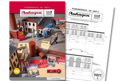 Auhagen 80002 BAU Modular System Planning Booklet - Part 2
