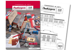 Auhagen 80003 BAU Modular System Planning Booklet - Part 3