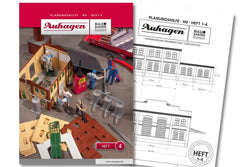 Auhagen 80004 BAU Modular System Planning Booklet - Part 4