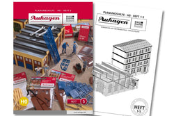 Auhagen 80005 BAU Modular System Planning Booklet - Part 5