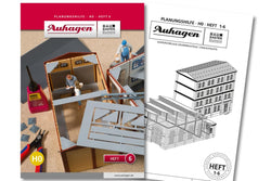 Auhagen 80006 BAU Modular System Planning Booklet - Part 6