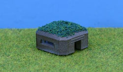 WWII Pill Box Type 28 3D Printed N Scale