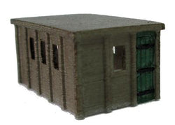 Concrete Lineside Building 3D Printed N Scale
