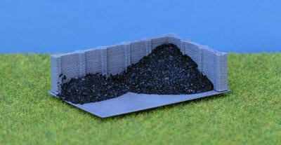 Concrete Coal Staithe Rtp 3D Printed N Scale