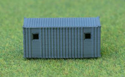 Portable Site Office Rtp 3D Printed N Scale