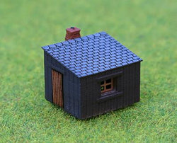 Platelayers Hut Rtp 3D Printed N Scale