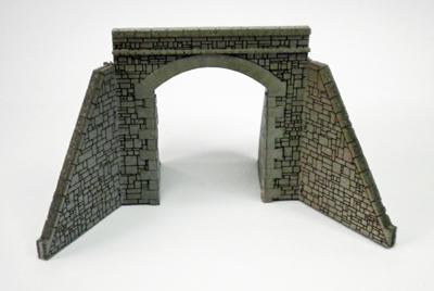 Tunnel Mouth Single Straight Walls N Scale