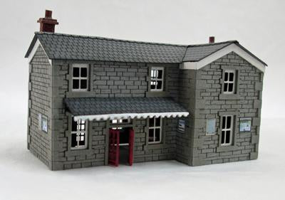 Country Station Building Kit N Scale