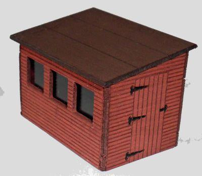 Shed Sloping Roof OO Scale