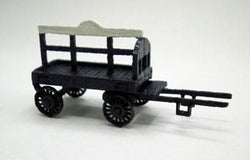 Horse Drawn Coal Wagon N Scale