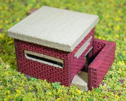 WWII Pill Box N Scale